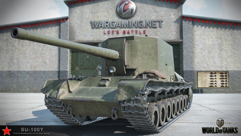 SU-100Y Tank Review (Version 9.19.1)
