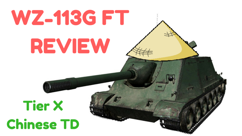 Review: WZ-131G FT – Tier 10 Chinese TD (Version 9.20)