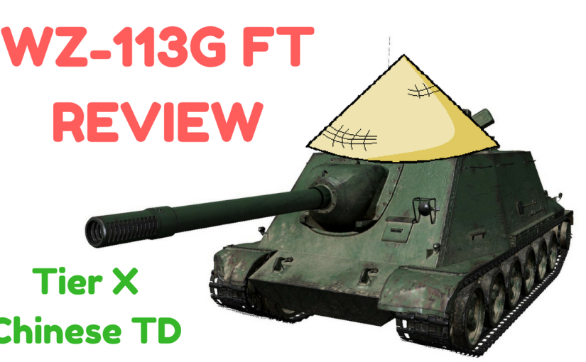 Review: WZ-131G FT – Tier 10 Chinese TD (Version9.20)