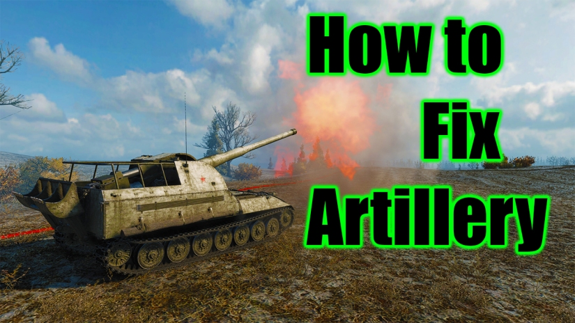 How to fix artillery in World of Tanks