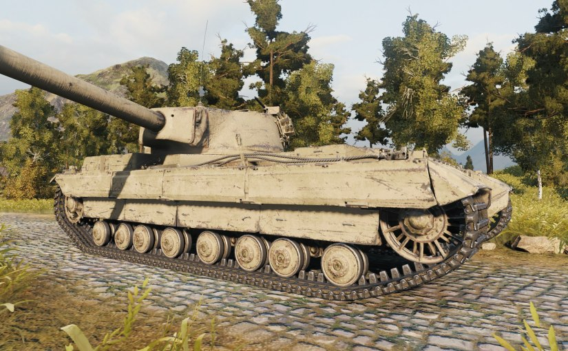 World of Tanks: FV215b HD Model & ArmourChanges